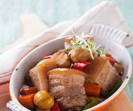 栗子紅燒肉