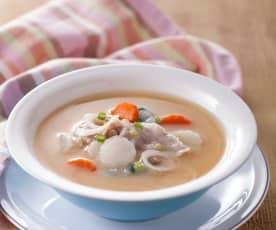 豚汁味噌湯
