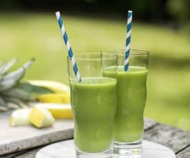 Beginner's Fruity Green Smoothie