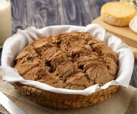 Francouzský chléb s vlašskými ořechy