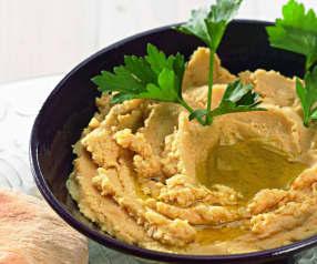 Cizrnová kaše (hummus)