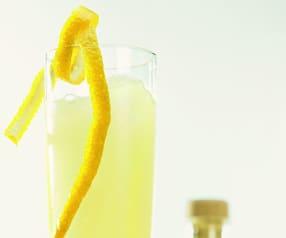 Granité champagne limonade