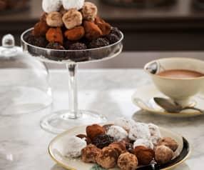 Trufas picantes de chocolate (Chocolat)