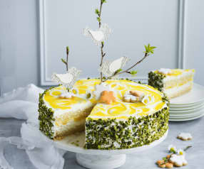 Mango-Joghurt-Torte mit Frischkäse
