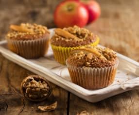 Jablečno-ořechové muffiny