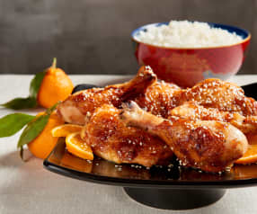 Chicken with Spiced Tangerine Sauce