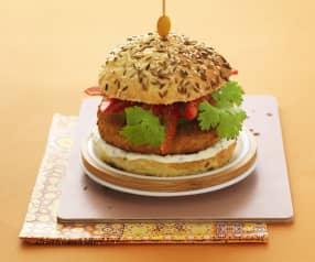 Bollywood Chicken Burger