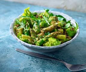 Green-Buddha-Salad mit Spargel
