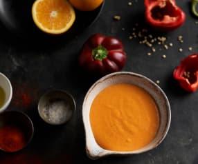 Sauce hollandaise au poivron rouge et au paprika