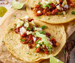 Tacos al pastor chilangos
