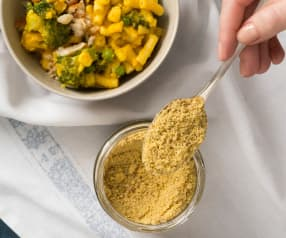 Plant-based parmesan