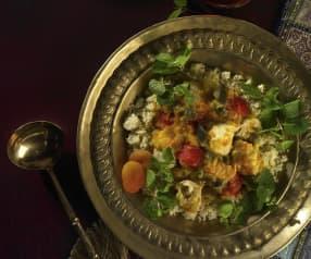 Hähnchen arabisch mit Couscous