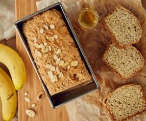 Pane alle banane, miele e mandorle