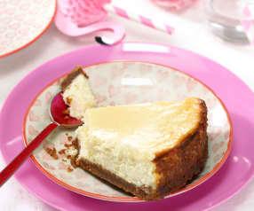 Cheesecake chocolat blanc-noix de coco