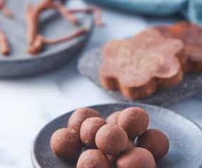 Chocolate procesado (decoraciones fáciles)