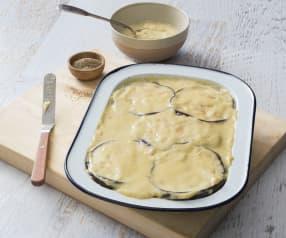 Plant-based béchamel sauce