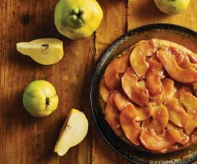 Tarte de outono com marmelo