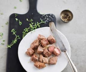炒牛肉塊(五分熟)