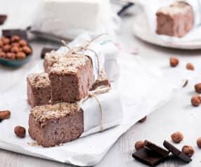 Proteinowy blok twarogowy z czekoladą
