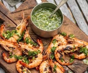 Salsa all'aglio per pesce e crostacei