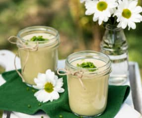 Chłodnik z pora, selera i ziemniaków (Vichysoiss)