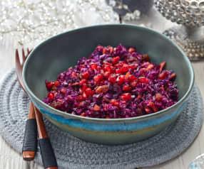 Weihnachtlicher Rotkohlsalat