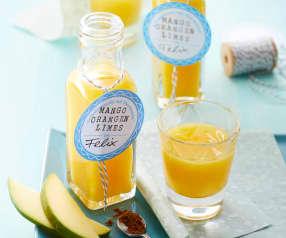Mango-Orangen-Limes