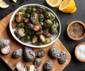 Sautéing 16 oz Brussels Sprouts