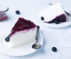 Cheesecake ligero con yogur griego