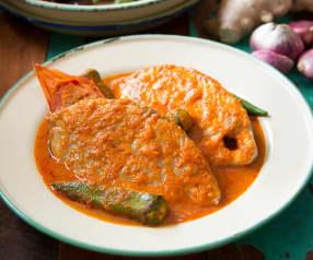Asam pedas ikan (spicy tamarind fish)