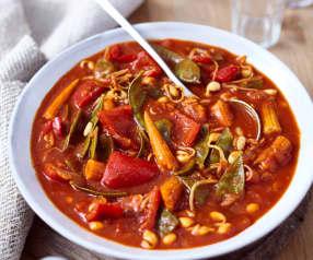 Légumes asiatiques à l'aigre-doux