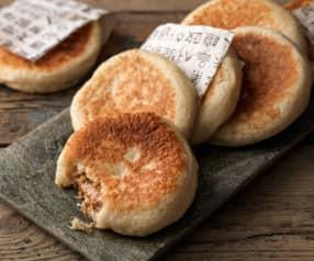 Hotteok (Süßer gefüllter Pfannkuchen)