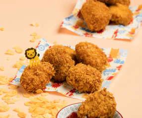 Frittierte Hühnernuggets