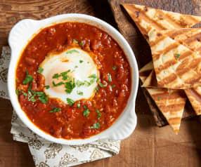 Steamed Eggs in Tomato Sauce (Shakshuka)