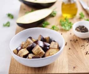 Sautéing 14 oz Eggplant