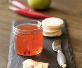 Chilli and apple jelly