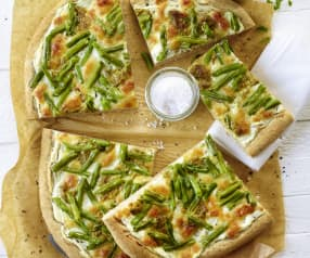 Pizza auf ligurische Art