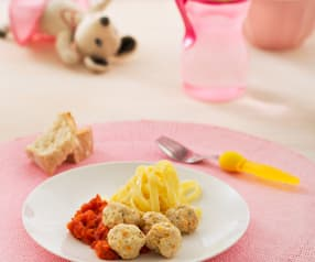 Albóndigas de pavo con salsa de tomate