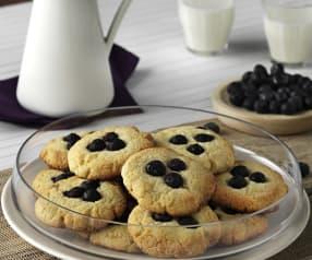 Cookies XXL con arándanos, chocolate blanco y coco