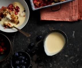 Salsa alla vaniglia (crema inglese)