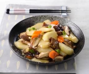 刺瓜炒鮮菇