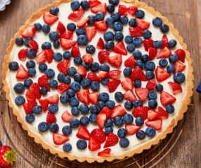 Erdbeer-Blaubeer-Tarte