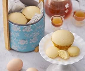 Gai Dan Gou (Chinese Steamed Egg Sponge Cupcakes)