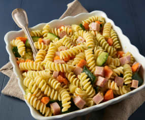 Ham and Veggie Pasta Salad