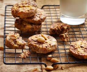 Cookie chocolat cacahuètes