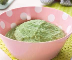 Brokkoli-Kartoffel-Brei mit Putenbrust