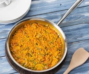 Paella de verduras (HESTA CUE)