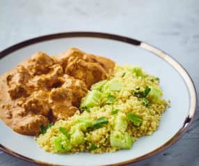 Curry di agnello a Cottura Lenta con cous cous