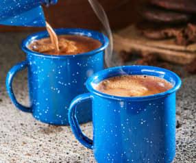 Chocolate caliente con chipotle