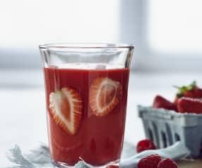 Erdbeer-Himbeer-Smoothie